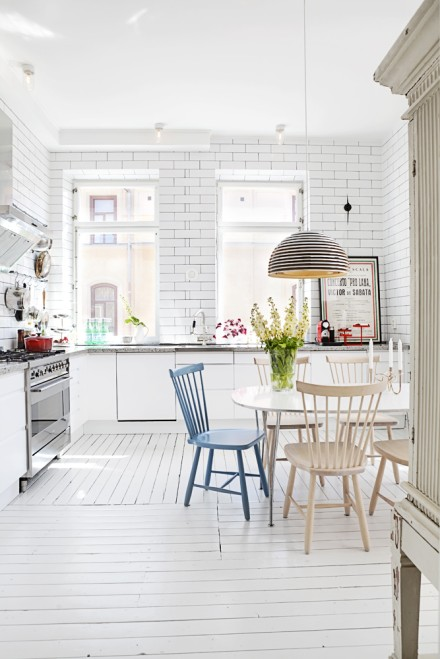 Stockholm apartment by interior designer Hannah Bastin
