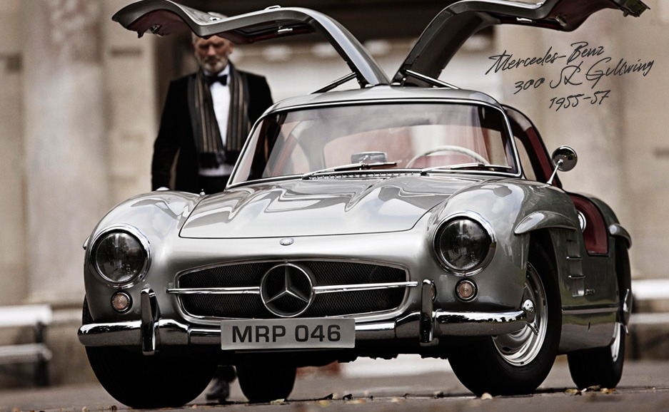 The Classics by Mr Porter - Mercedes-Benz 300SL Gullwing