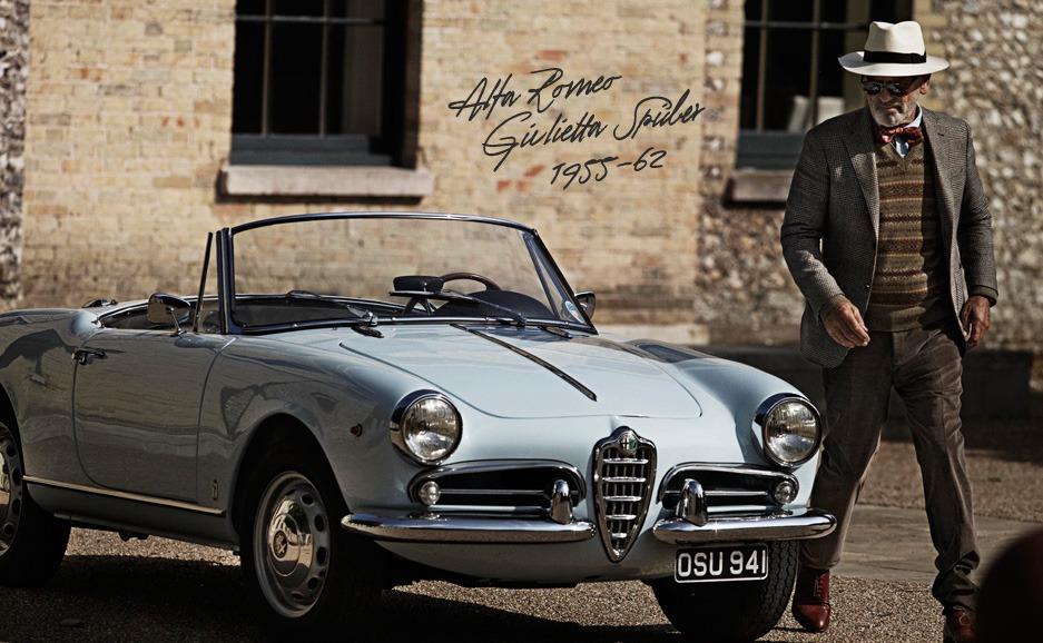 The Classics by Mr Porter - Alfa Romeo Giulietta Spider