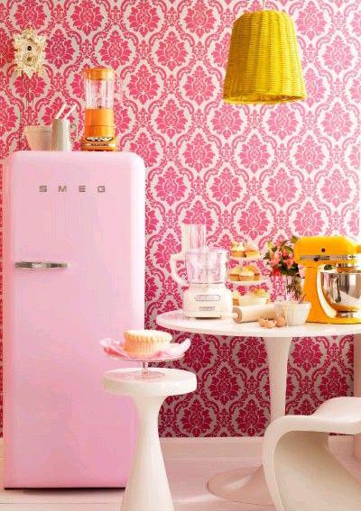 Smeg 50′s style refrigerator