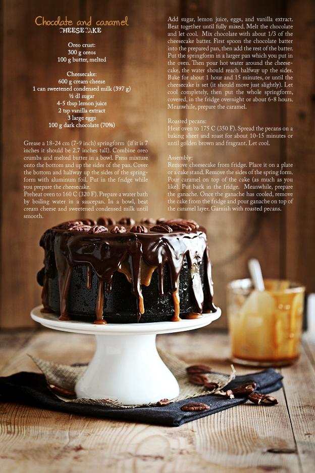 Call me cupcake: Chocolate caramel cheesecake
