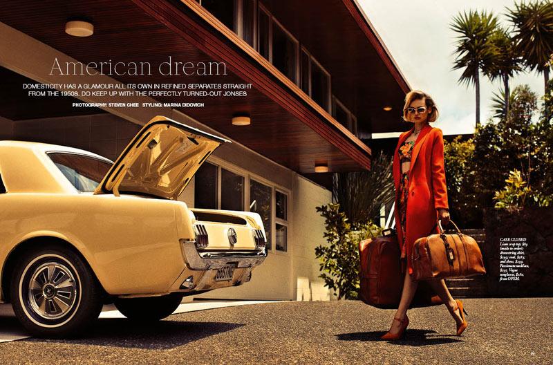 American dream by Steven Chee