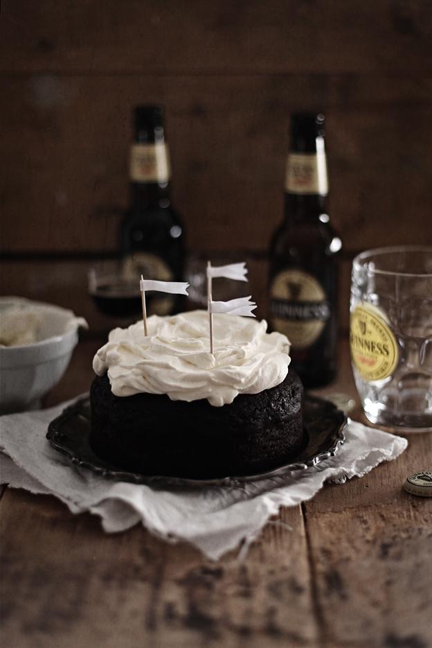 Call me up cake! Guinness chocolate cake
