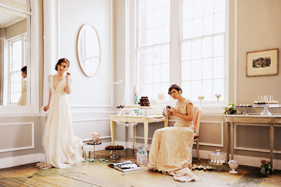 Metropolitan Building Marie Antoinette Inspired Photo Shoot by Judy Pak Photography