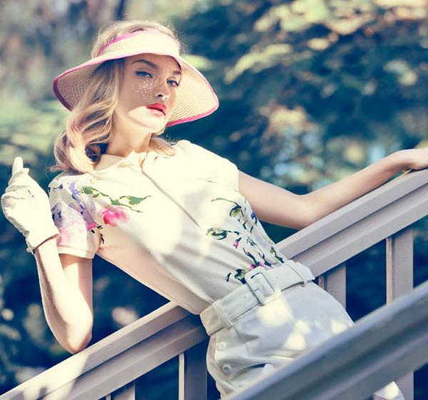 The Trust Betrayed, Amanda Nørgaard by Signe Vilstrup for Elle Denmark May 2012!