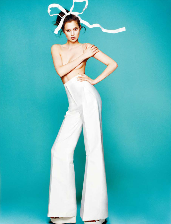 White Spring with Anais Pouliot for Numéro China May 2012