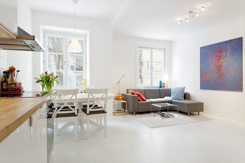 An apartment in Stockholm