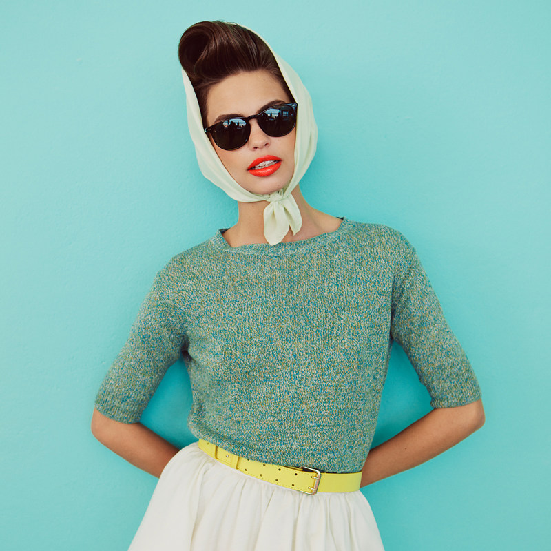 Vintage style by Andrea D'Aquino for Quality Magazine
