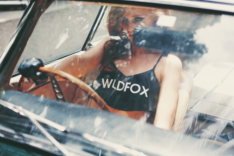 Cintia Dicker Plays Bombshell for Wildfox's Swim 2013 Campaign