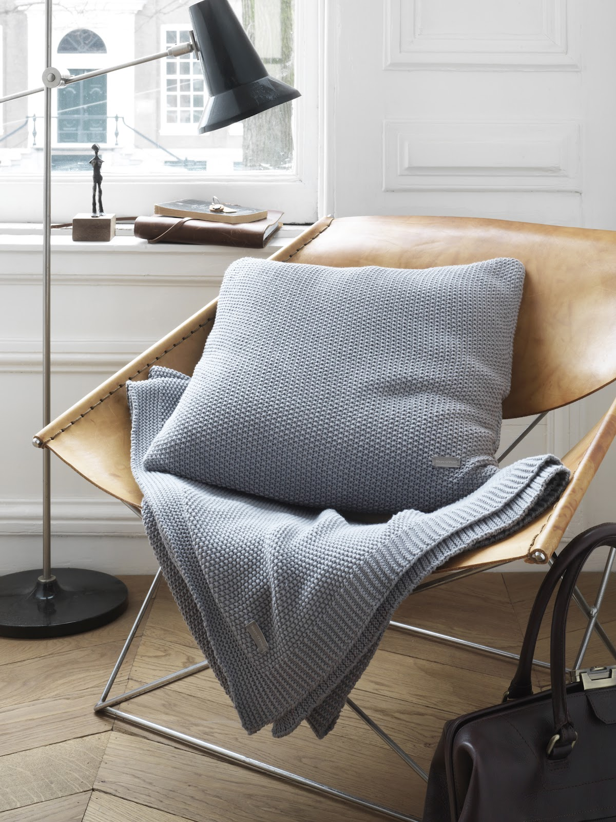MARC-O-POLO HOME collection Timeless_Knitted Grey_Sfeer