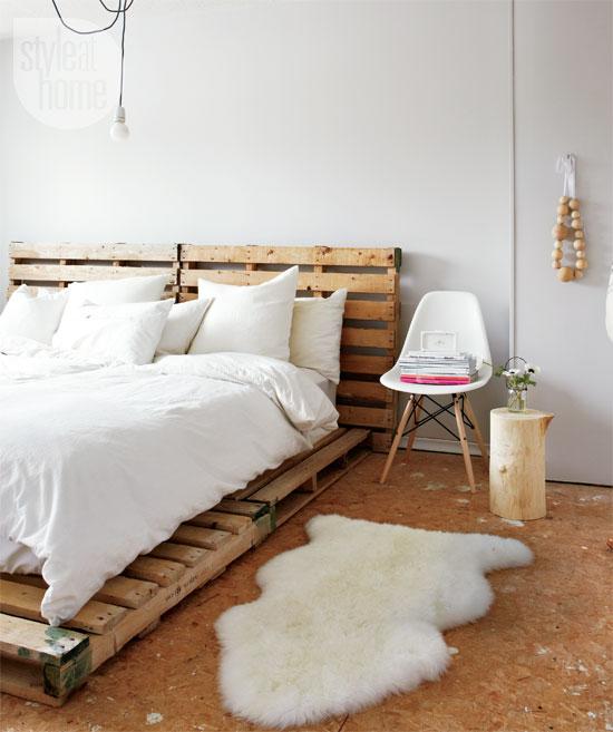 Scandinavian style in Canada by Tara Ballantyne - bedroom