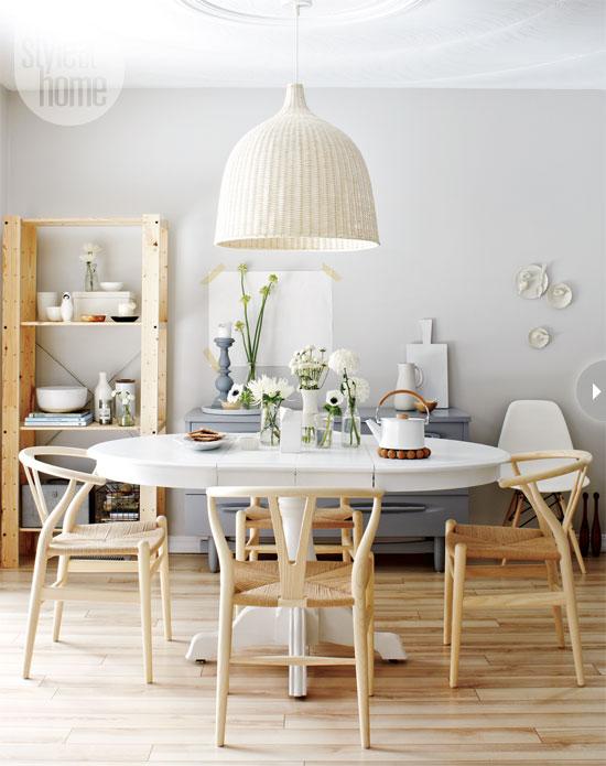 Scandinavian style in Canada by Tara Ballantyne - dining room