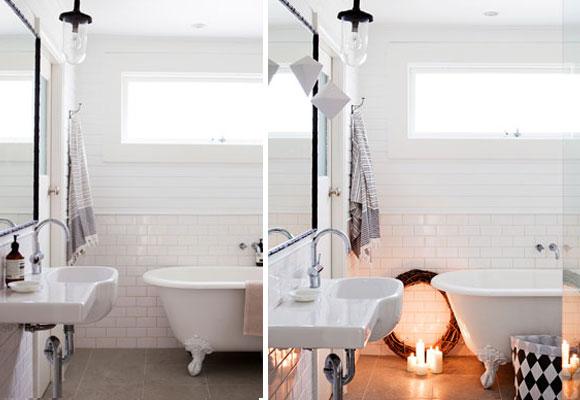 DIY Christmas tips by Australian magazine Real Living Bathroom