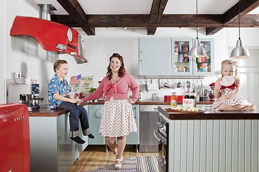 The Rockefella kitchen
