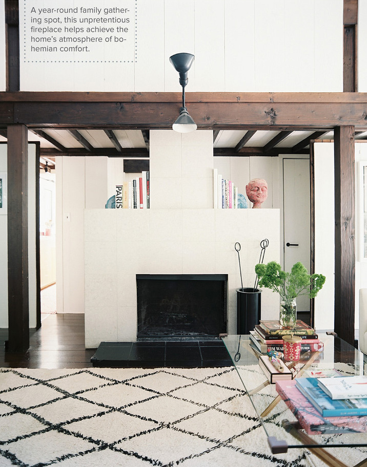The home of fashion designer Ariane Goldman founder of Hatch Collection