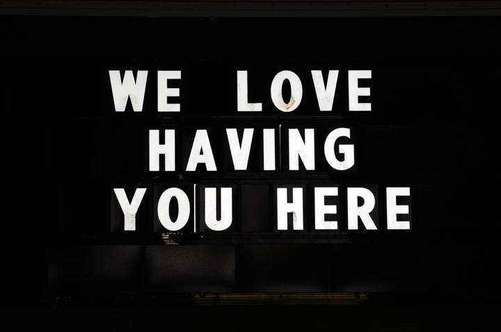 we love having you here