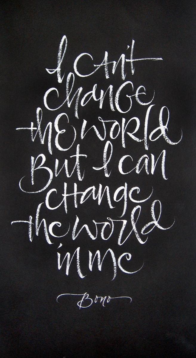 i cant change