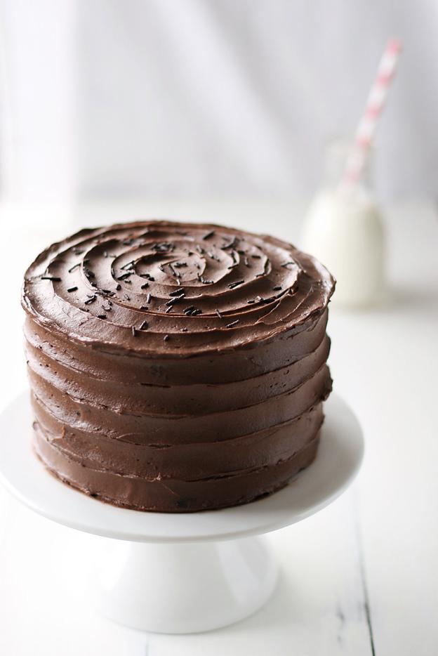 Chocolate cake by call me cupcake