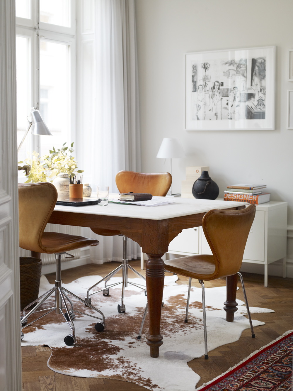 Elegant Scandinavian apartment in Stockholm 4