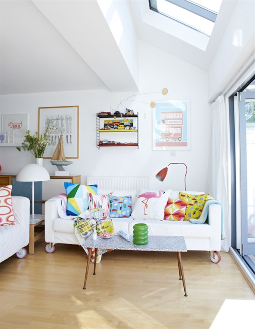 Colorful creative home in England 2
