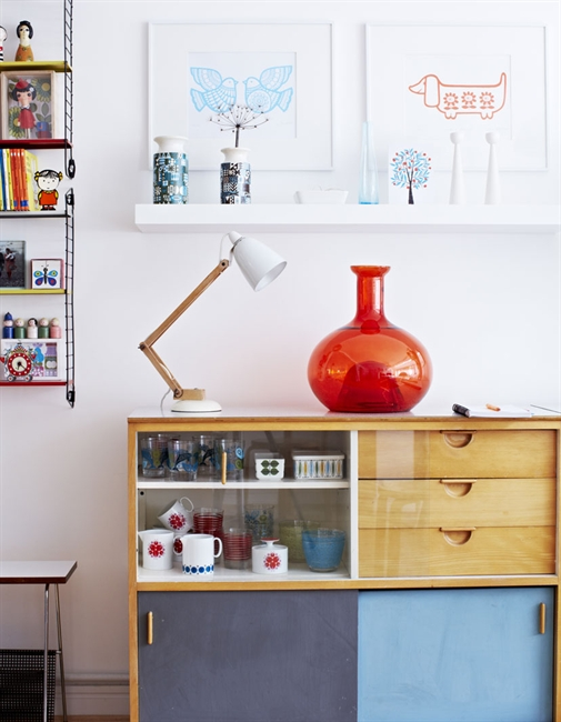 Colorful creative home in England 3