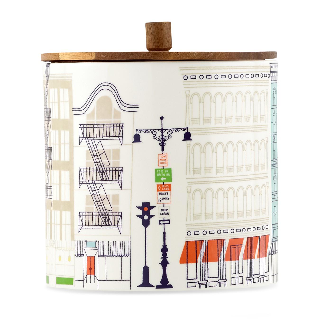 Klas Fahlén illustrations for Kate Spade porcelain serveware 2