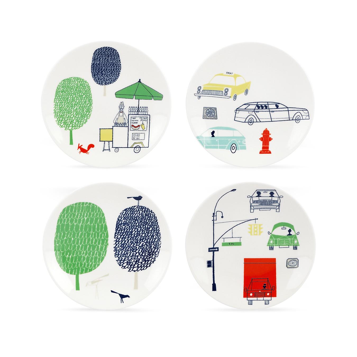 Klas Fahlén illustrations for Kate Spade porcelain serveware 3