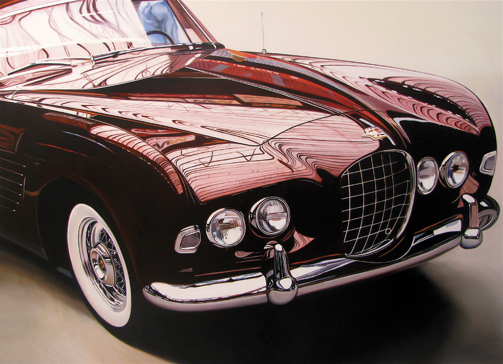 Classic muscle cars paintings by Cheryl Kelley 4 Cadillac