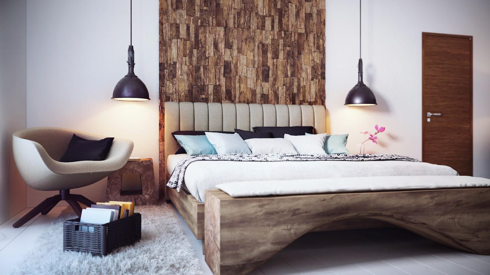 Cozy minimalist bedroom by Alexander Uglyanitsa 1