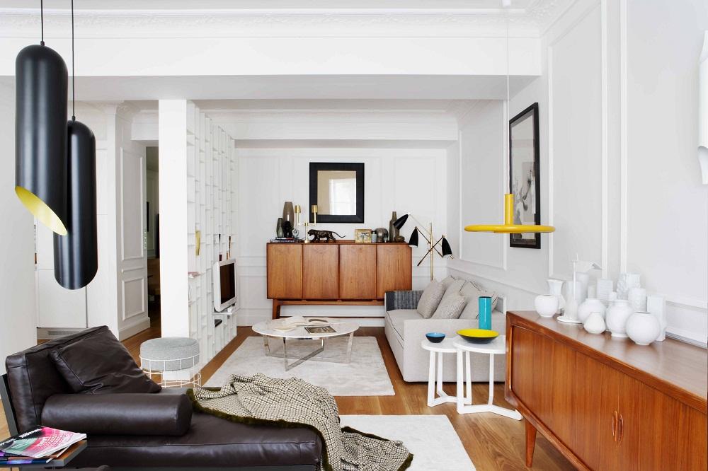 Eclectic San Sebastian apartment of spanish interior designer Mikel Irastorza 1