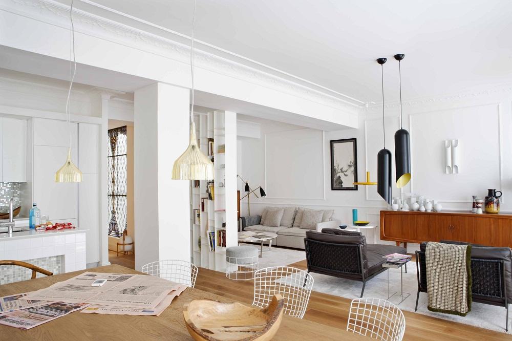 Eclectic San Sebastian apartment of spanish interior designer Mikel Irastorza 6