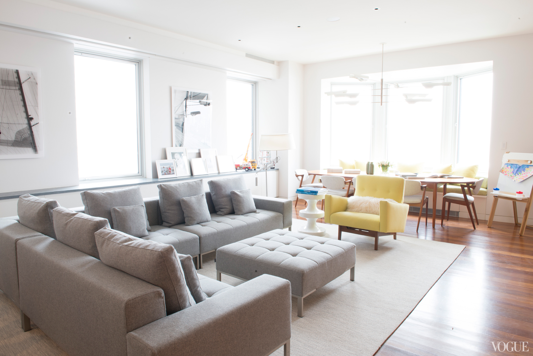 The New York City apartment of Ferebee Taube 3