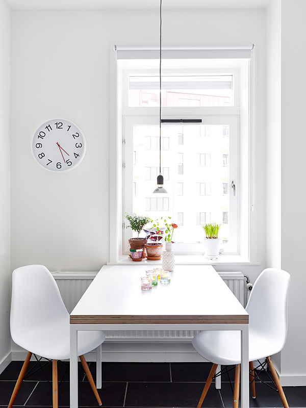 White sunny Swedish home 1