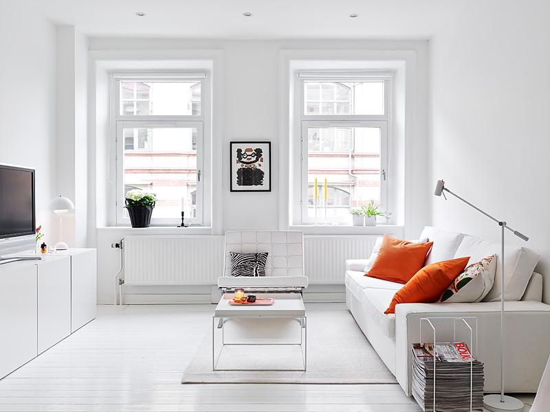 White sunny Swedish home 10