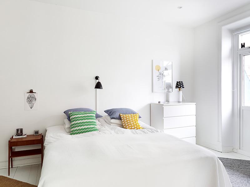 White sunny Swedish home 11