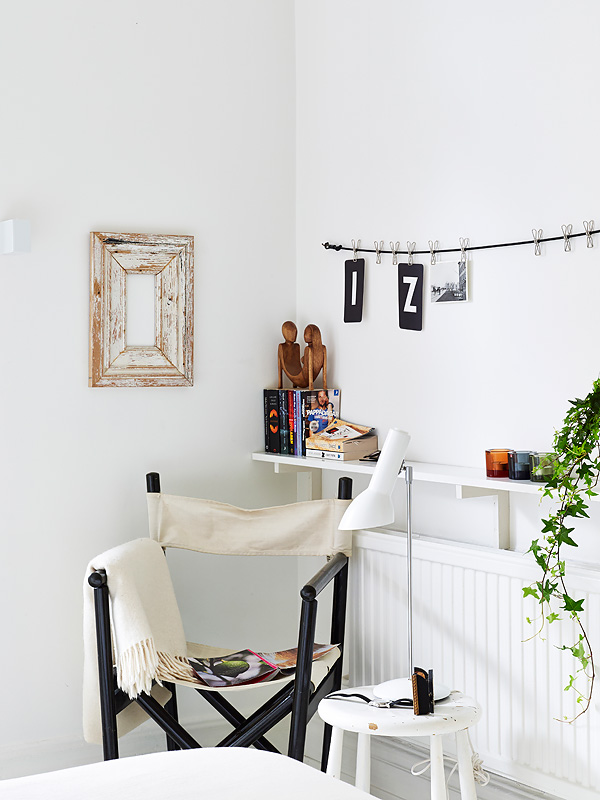 White sunny Swedish home 7