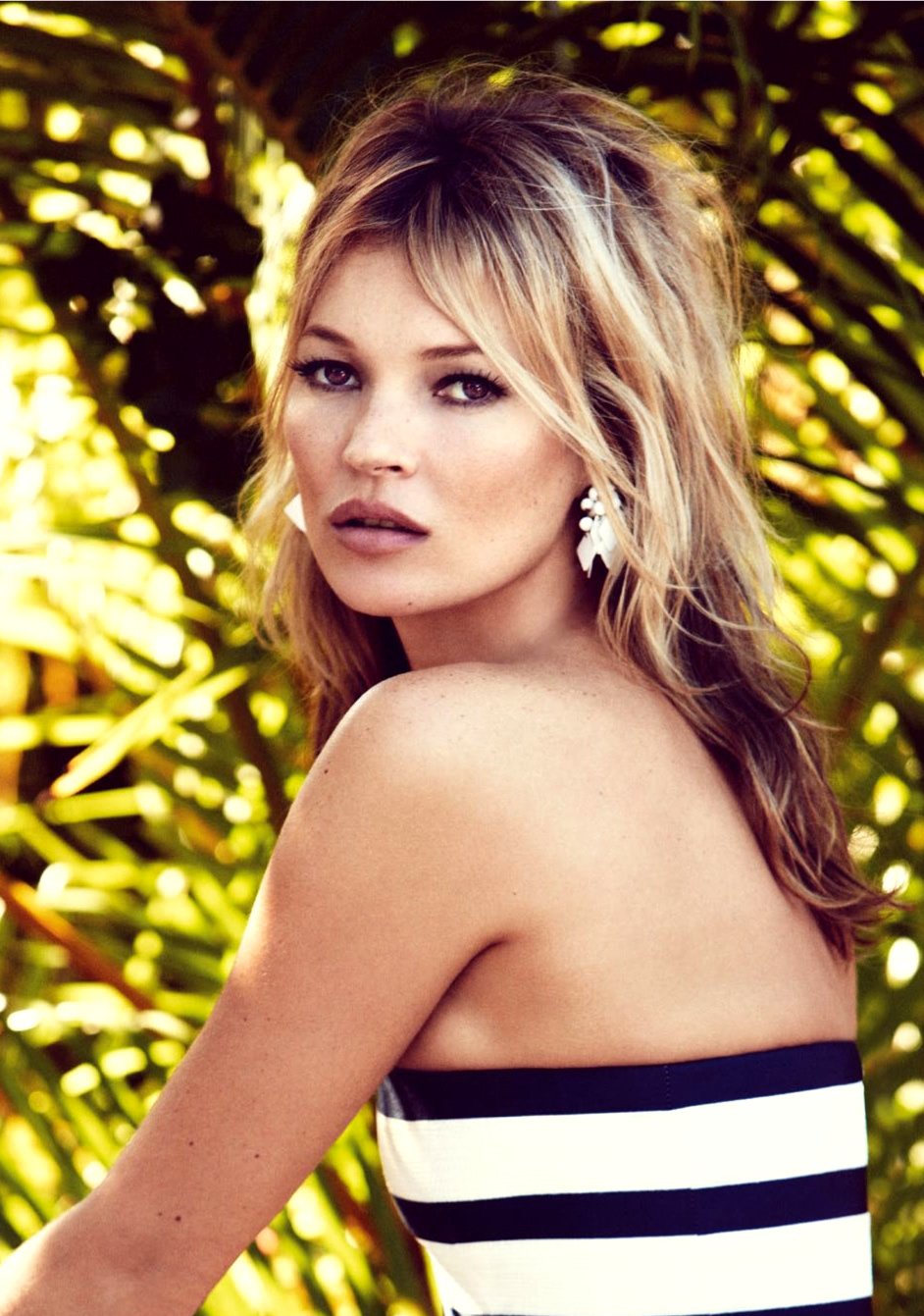 60s styled Kate Moss by Patrick Demarchelier for Vogue UK June 2013 1