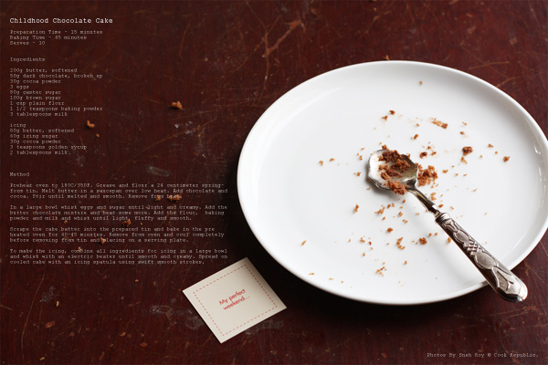 Childhood Chocolate Cake by Cook Republic 5