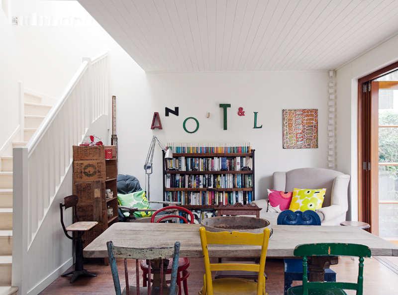 Nikki Gemmell's raw interior on Sydney's north coast 6