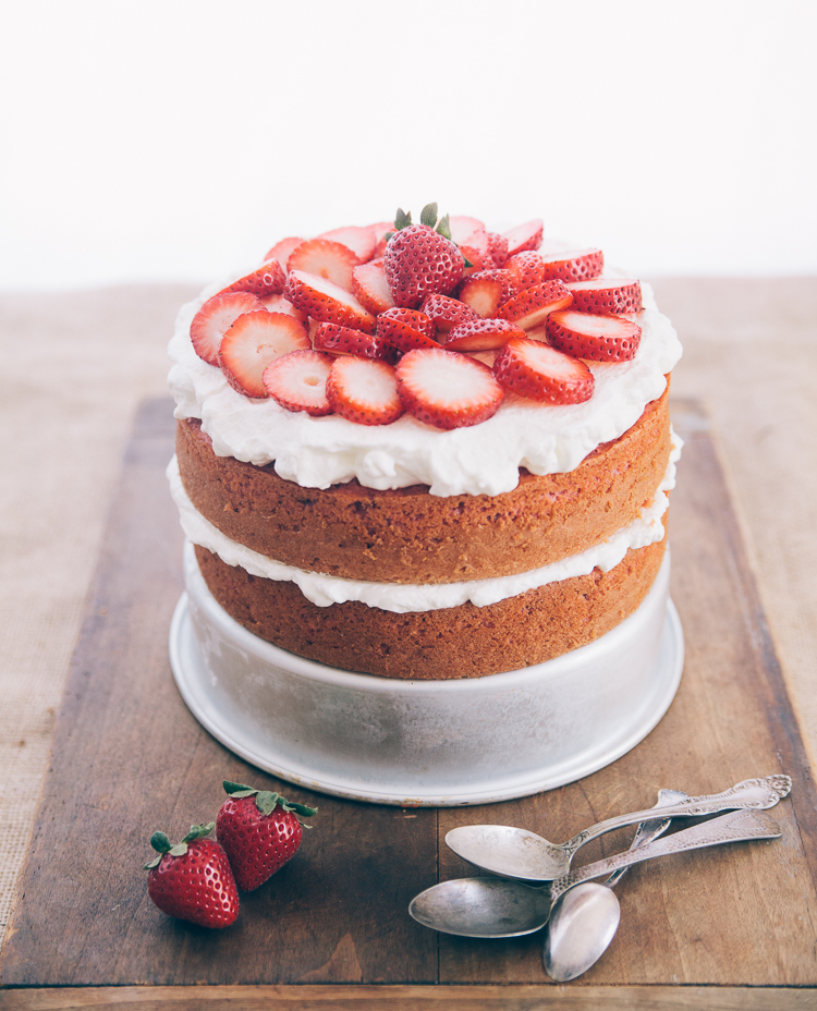 Southern Strawberry Cake by Hannah Messinger 1