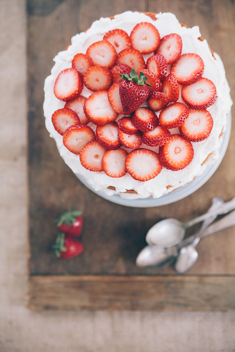 Southern Strawberry Cake by Hannah Messinger 2