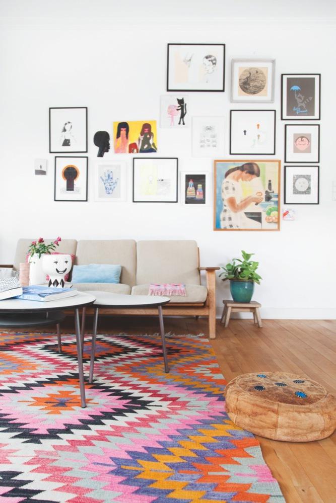 The home of illustrator and artist Anne Bundgaard 1