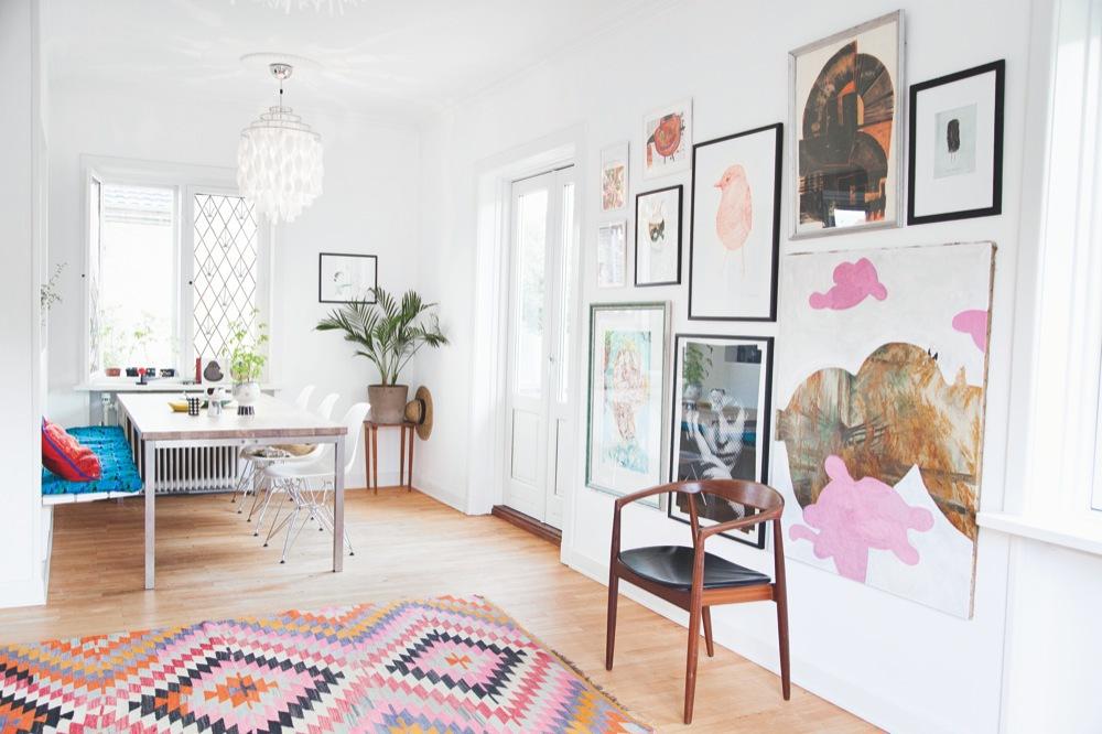The home of illustrator and artist Anne Bundgaard 8