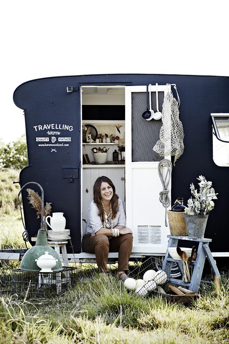 caravan Kara Rosenlund A vintage shop on wheels 10
