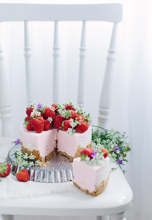 No-bake strawberry cheesecake by Call me cupcake 2