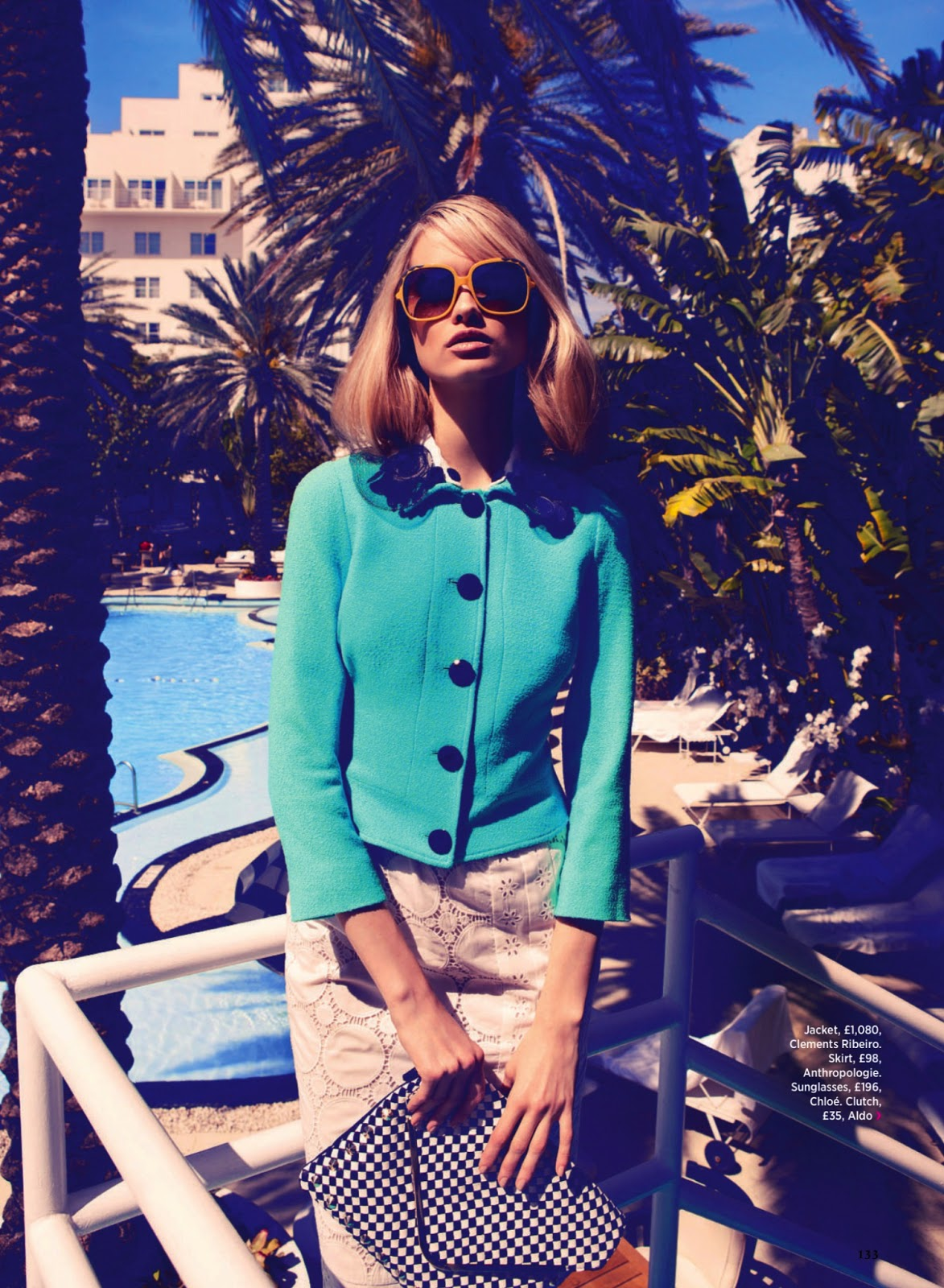 Summer in the City Vika Costa for Cosmopolitan UK July 2013 2