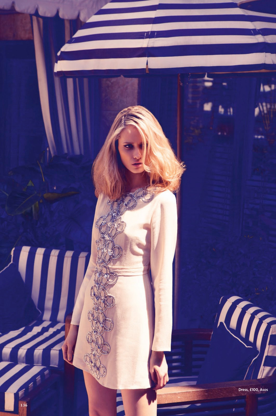 Summer in the City Vika Costa for Cosmopolitan UK July 2013 5