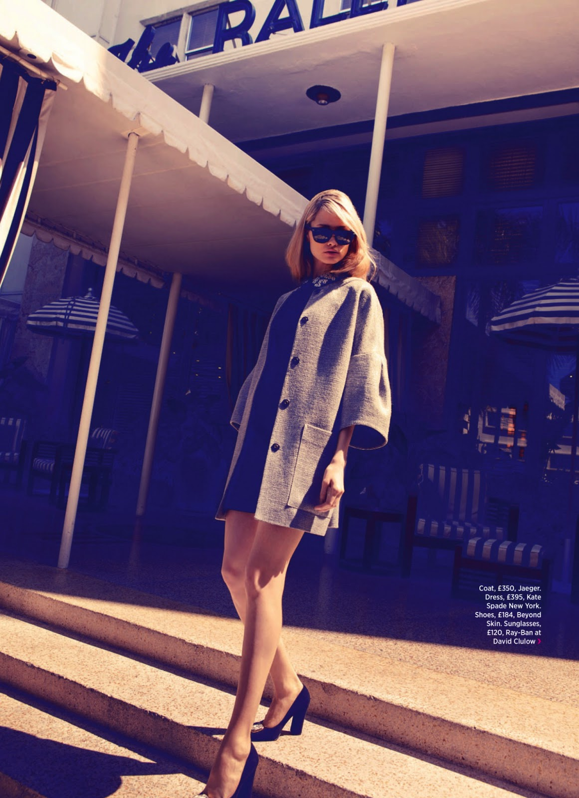 Summer in the City Vika Costa for Cosmopolitan UK July 2013 6