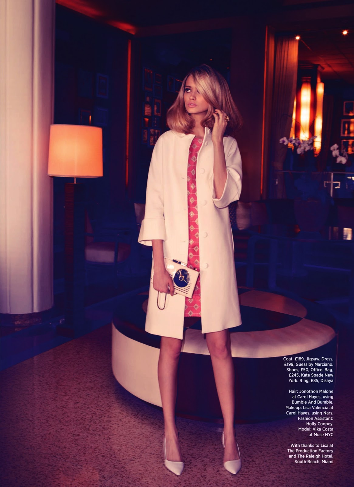Summer in the City Vika Costa for Cosmopolitan UK July 2013 8