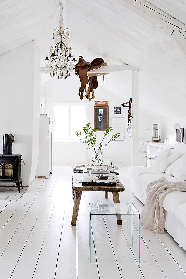 White renovated farmhouse in Sweden 1